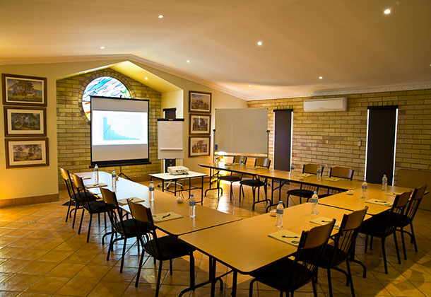 Our conference room is available all year round for workshops, conferences, Christmas parties etc. Suitable for up to 30 people seated at tables.