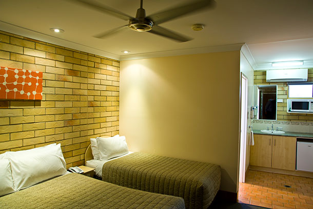 All of our rooms are air conditioned with whisper quiet ceiling fans, ensuring a comfortable and enjoyable stay.